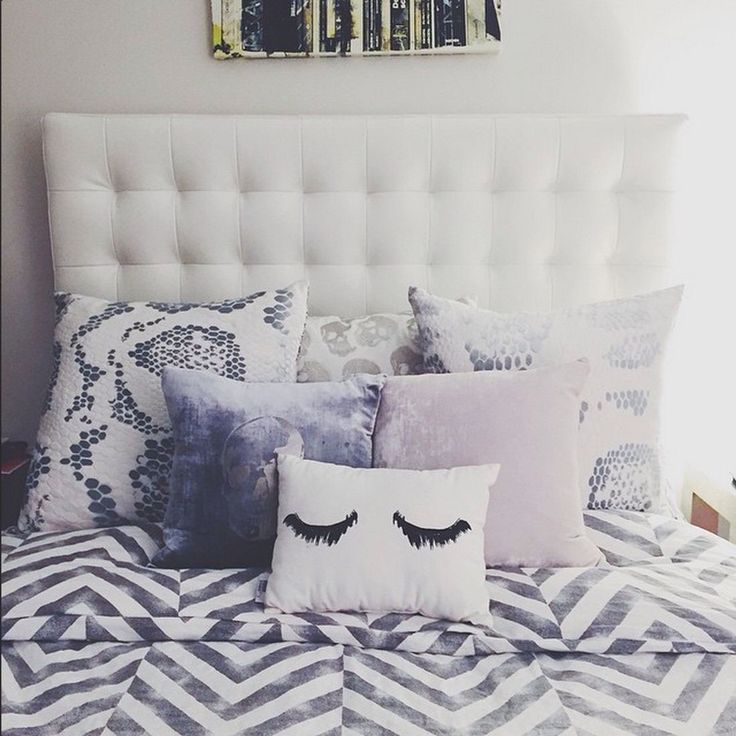 1000 ideas about pillow headboard on pinterest for Room and board pillows