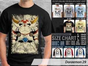 Kaos Doraemon Edisi Klasik, Kaos Doraemon Nobita Klasik, Kaos Doraemon Shizuka Klasik, Kaos Doraemon Suneo Klasik
