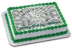 100 dollar bills – Edible Cake Topper, Cupcake Top…