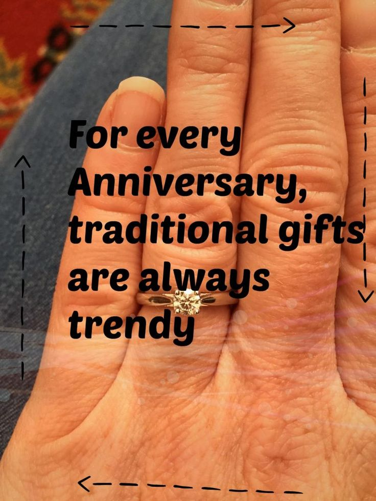For every #Anniversary, #traditional #gifts are always trendy Are you…