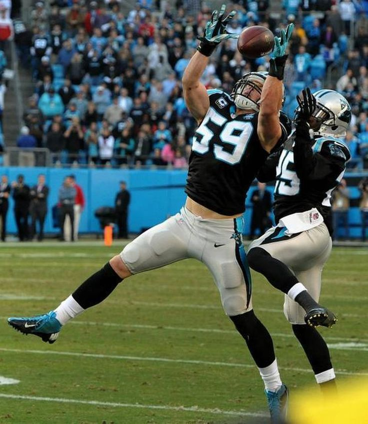 Panthers LB Luke Kuechly a nice guy ... until the lights come on ...
