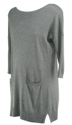 40849fd6ed48b Gray A Pea in the Pod Maternity Cashmere Mix Tunic Maternity Sweater (Like  New - Size Small) - Motherhood Closet - Maternity Consignment