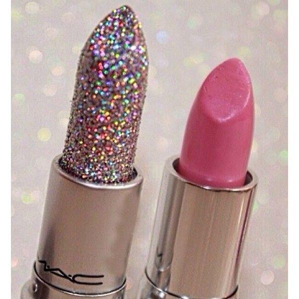 (27) glitter lipstick   Just Girly Things   Pinterest   Помады, Mac и... ❤ liked on Polyvore featuring beauty products, makeup, lip makeup, lipstick and glitter lipstick