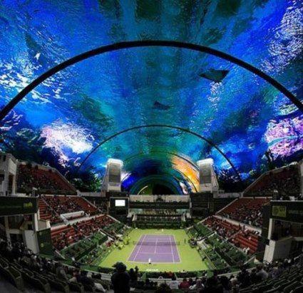 Это будет одна из самых крутых вещей в мире. Подводный стадион в Дубае