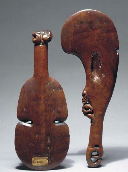 Maori hand to hand fighting clubs