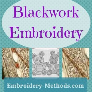 Learn about blackwork embroidery on Embroidery-Methods.com
