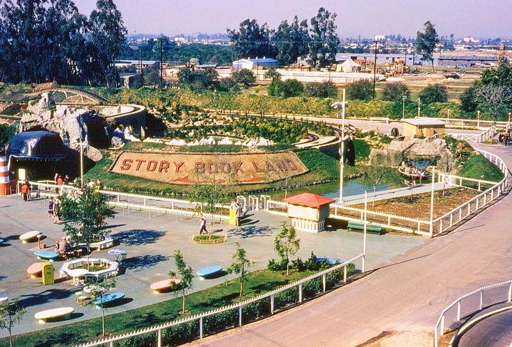 Daily Vintage Disneyland: Story Book Land from the Skyway 1957 Blog http://mickeyphotosdisneyland.blogspot.com