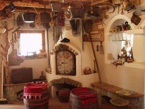 Internal detail of the Skanzen folk museum near Szentendre