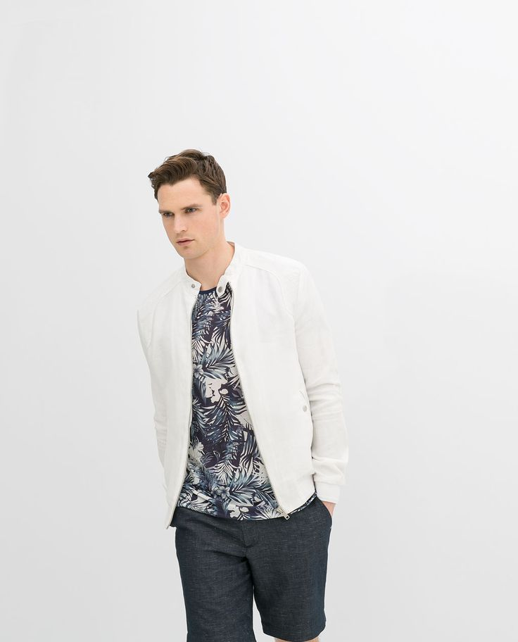 Mens summer jackets zara
