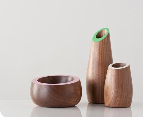 Walnut vessel by Matt Pugh