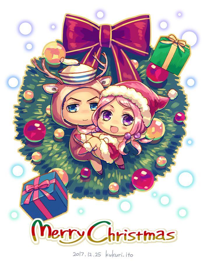 Chibi Christmas Jojolion    pixiv いと   『JoJo\'s Bizarre Adventure ...
