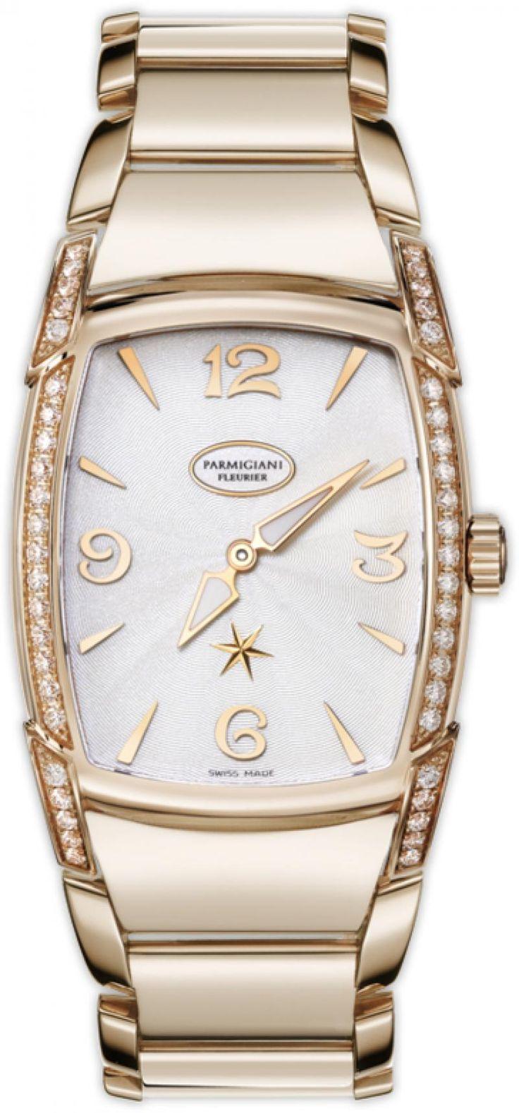 Parmigiani Fleurier PFC125-1020700-B10002 KalpaLadies Kalpaprisma - швейцарские женские часы - наручные, золотые с бриллиантами, белые