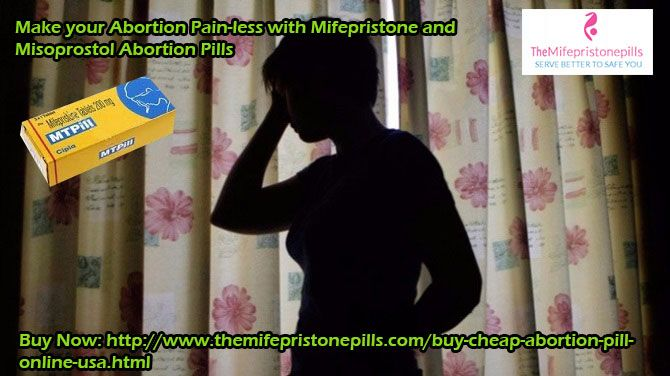#Mifepristone and #Misoprostol_Pills (MTP Kit) is a two-step and secures way then the #surgical_abortion. The #MTP_KIT is a pack of 5 tablets made up of Mifepristone or Misoprostol FDA approved #abortion_pills. Women can #buy_Mifepristone and Misoprostol Pill online at #TheMifepristonePills online pharmacy in #USA #UK, only at $110.00 prices.    For more information, please Visit at   http://www.themifepristonepills.com/buy-cheap-abortion-pill-online-usa.html