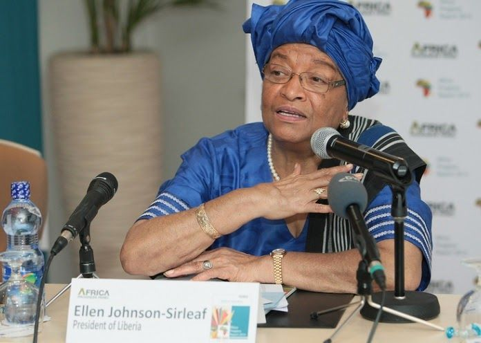 Politician and economist, Liberian President Ellen Johnson Sirleaf is the first female elected president in Africa. On January 16, 2006, Ellen Johnson Sirleaf was sworn in as the twenty-fourth and current president, making her the first elected female president in Africa. She has been called the Iron Lady due to her strong will and political persistence.