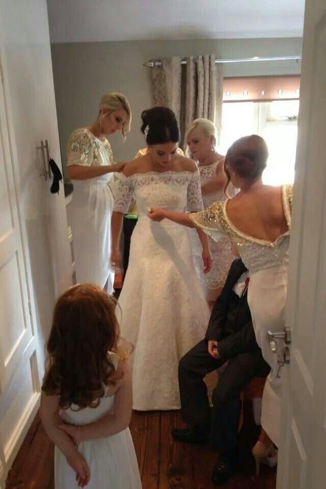 Getting ready #Wedding