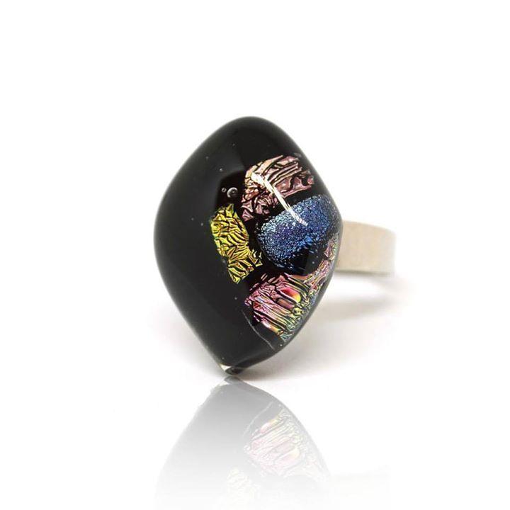 #instahun #glassart #fusingglassjewellery #nyiriandrea #ring #jewelrymaker #jewelrydesigner #jewelry
