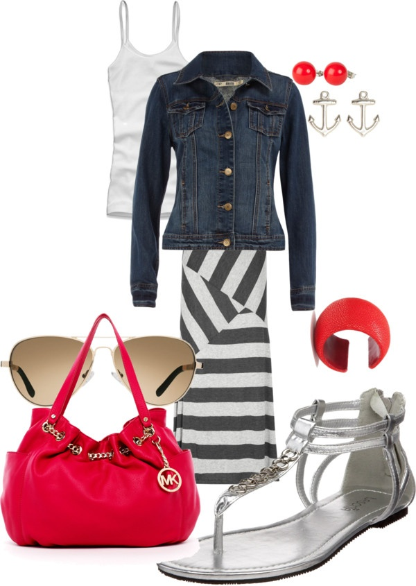 """""""A lil sailor in me"""" by hollisgena on Polyvore: Fashionista Wanna, Wanna Wear, Utter Style Lici, Fashion Fit, Lil Sailors"""
