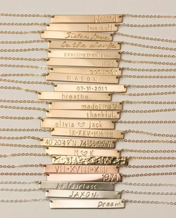 One necklace, endless possibilities for personalization.