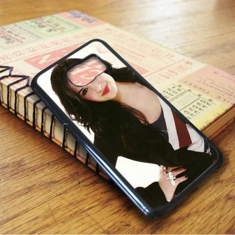 Demi Lovato Beautiful Red Smile Samsung Galaxy S6 Case