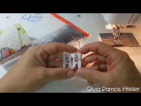 DIY - Dicas de como costurar plástico cristal e etaflon ou manta térmica - YouTube