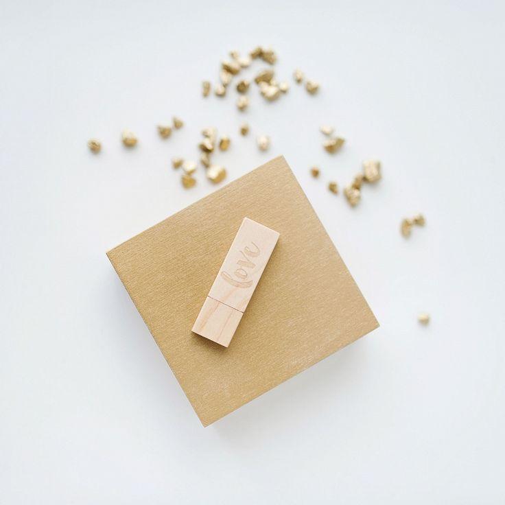 Wooden box for pen drive #pnedrive #case