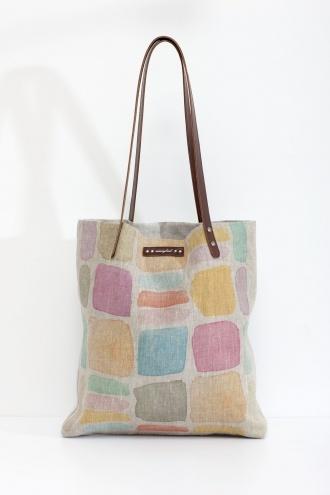 Nancy Bird 19511 Watercolour shopping bag tote, could be handy!