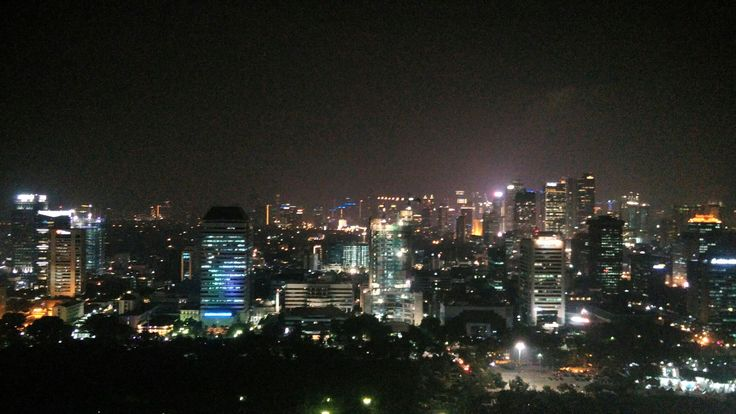 Jakarta, view from Monas