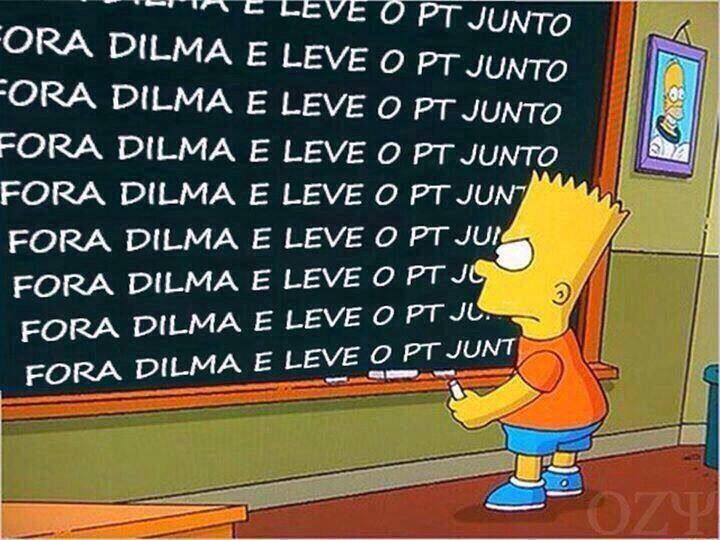 Fora Dilma!