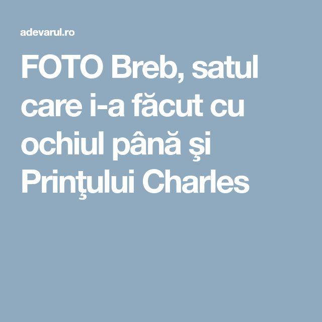 FOTO Breb, satul care i-a făcut cu ochiul până şi Prinţului Charles