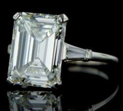 Celebrity Engagement Rings - Melania Knauss Trump