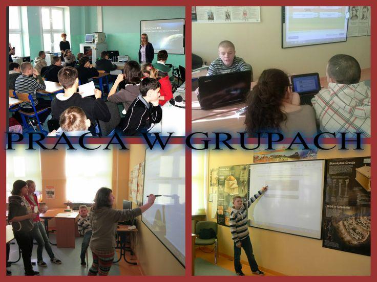 Kolejną okazję do zastosowania TIK w praktyce mieliśmy podczas szkolnych obchodów Dnia Danych Osobowych. Zostaliśmy podzieleni na 4 grupy. Każda grupa odwiedzała cztery sale, w których pani Dagmara, pani Agata, pani Krystyna i pani Kinga przygotowały nam ciekawe zadania komputerowe na temat danych osobowych.