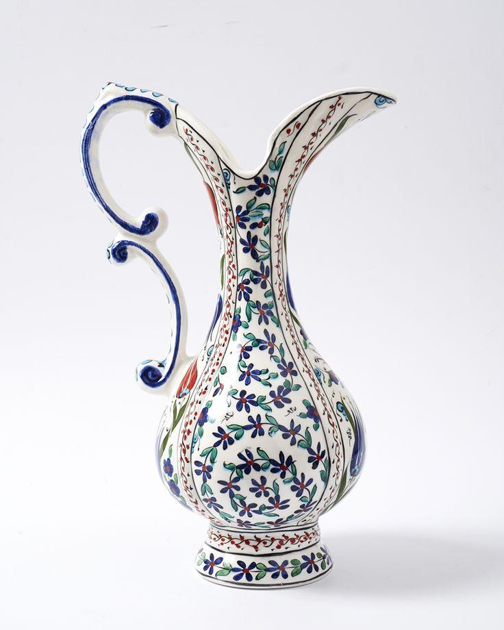 Penguen Ağızlı Sürahi - Kütahya Çini ve El Sanatları