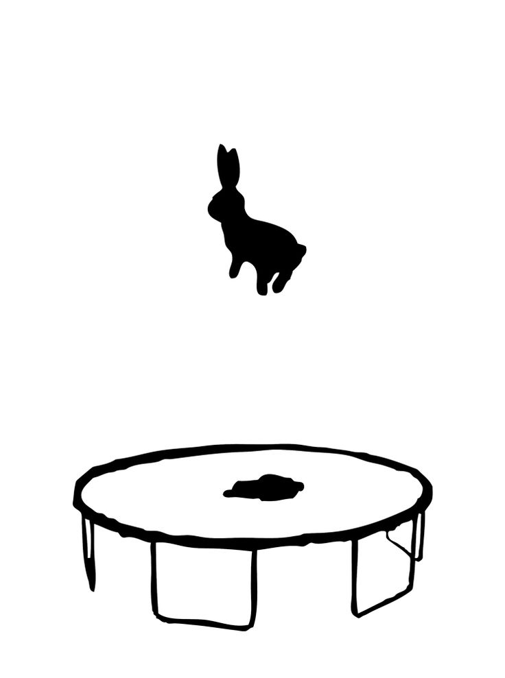 Print Club London – Bouncing Rabbit