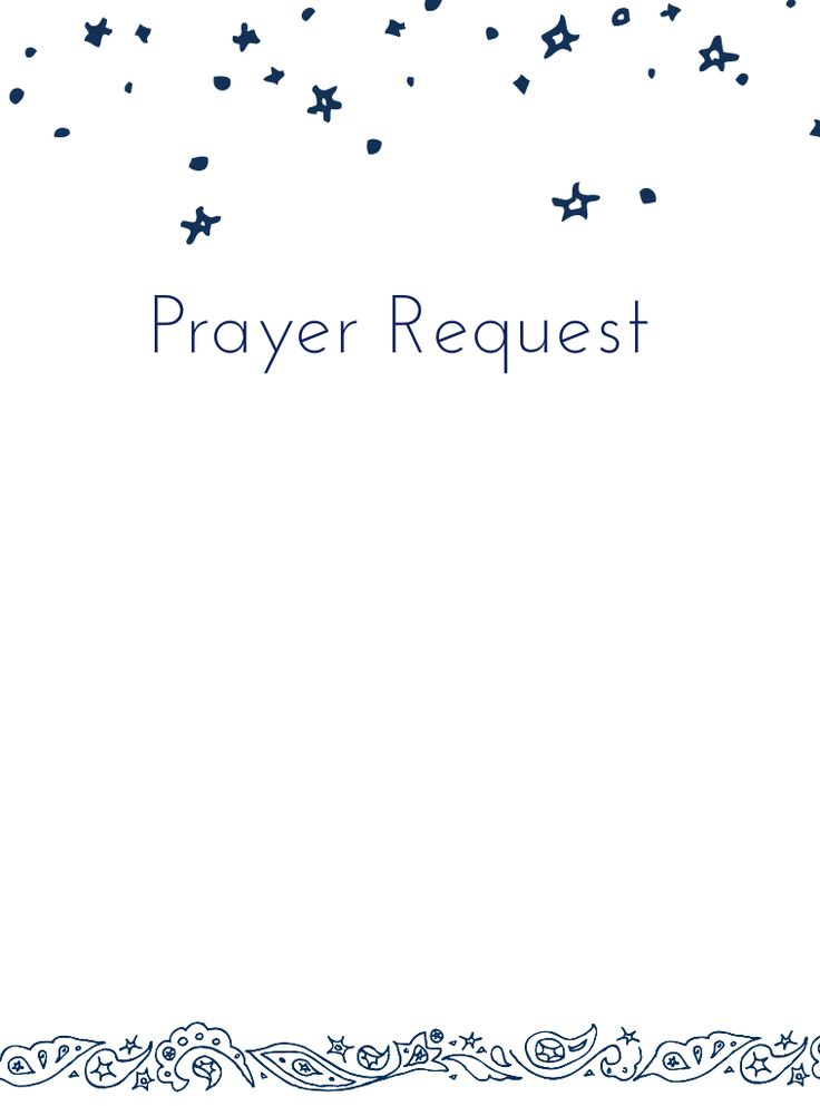 Prayer Request Form Prayer Request Form Kids Please Let Us Know How