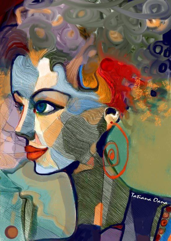 Portrait by OANA TATIANA  http://alesarte.com/oana--tatiana.php
