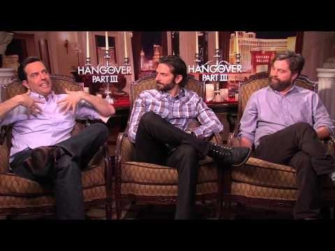 Entrevista con el elenco de The Hangover Part 3