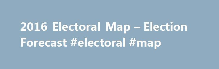2016 Electoral Map – Election Forecast #electoral #map http://coin.nef2.com/2016-electoral-map-election-forecast-electoral-map/  # 2016 Electoral Map Forecast 2016 state-by-state final prediction – frozen noon, November 7th Shown below is the final forecast for the Electoral Map in the 2016 Presidential election between Republican Donald Trump and Democrat Hillary Clinton. This forecast was frozen at noon the day before the election. ElectoralMap.net – analyzing the 2016 election forecast of…