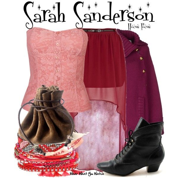 Inspired by Sarah Jessica Parker as Sarah Sanderson in 1993's Hocus Pocus.