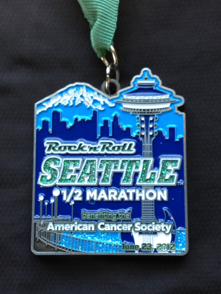 2012 Rock 'n' Roll Seattle Half Marathon - want one of these this year!!! June baby!!!
