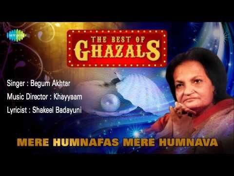 Begum Akhtar gazals lyrics | Shabdbeej