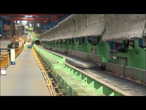 Stelmor Controlled Cooling Conveyor System