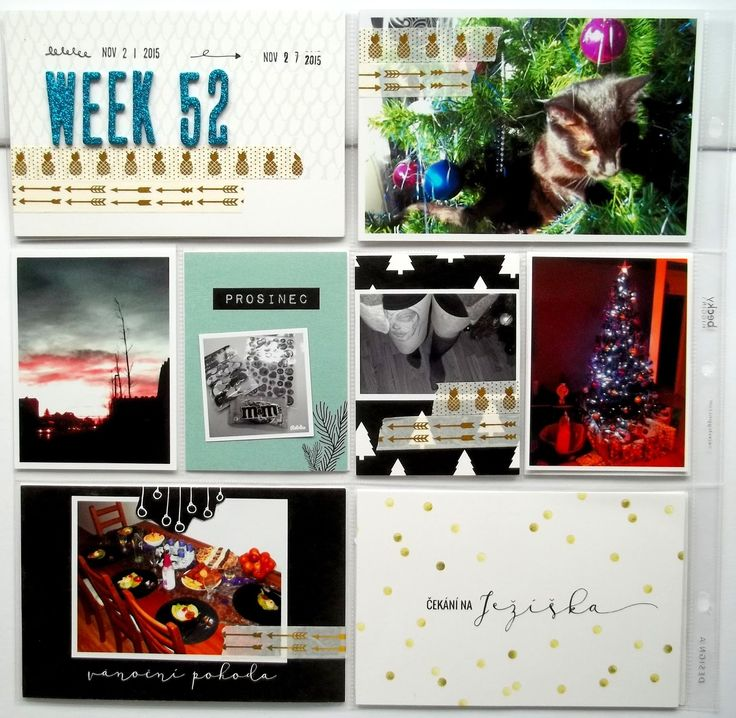 My little paper world...: WEEK 52