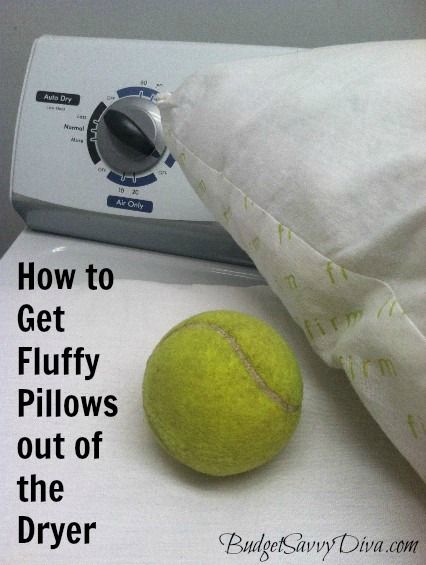 How to Get Fluffy Pillows When Drying
