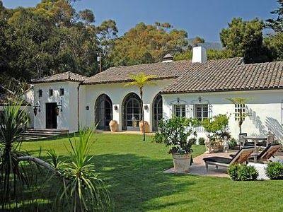 - spanish colonial santa barbara style