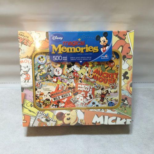Disney Magical Memories 500 Piece Jigsaw Puzzle Disney La Frenesie Mega