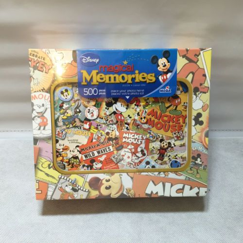 Disney Magical Memories 500 Piece Jigsaw Puzzle Disney La Frenesie Mega