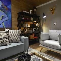Salones de estilo escandinavo de Johnny Thomsen Design de Interiores