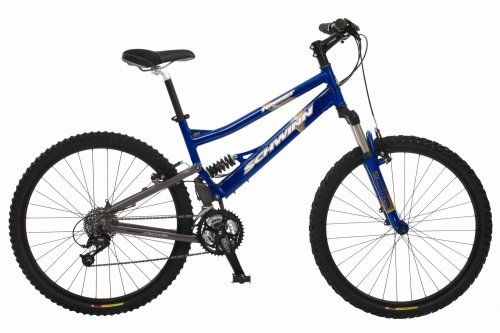 Repin this if you love the outdoors! Schwinn Rocket Adult Dual-Suspension Mountain Bike