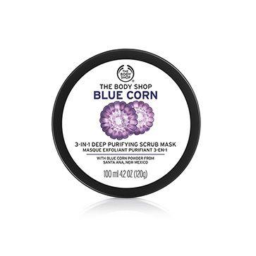 Blue Corn 3-in-1 Deep Cleansing Scrub Mask
