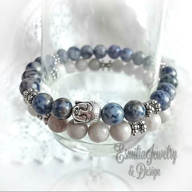WEBSTA @ esmiliasmycken - Blue spot stoneWhite Natural agateAgate beadsEtsy shop #bracelet #handmadejewelry #braceletstacks #handmade #mydesignade #armband #beads  #Gems #gemstone #gem #jewelry #jewelrymaking #jewelrydesigner #shop #shopping #fashion #femalefashion #finejewelry #fashionjewelry #etsy #etsyshop #agate #smycken #bloppis #loppis #buddha #bluespot